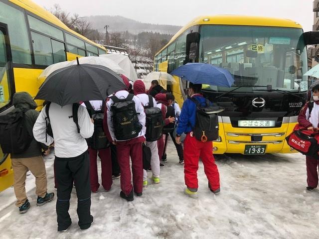 雨の山形蔵王スキー場(雨の神様でもいるのかしら)